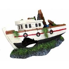 "Trixie Decoration Boat Wreck –декорация для аквариума ""Обломки корабля"""