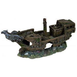 Трикси ♦ затонувшее судно ♦ декорация для аквариума
