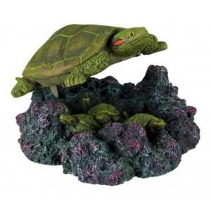 "Trixie Turtle with Air Outlet - декорация для аквариума ""Грот черепаха"""