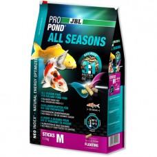 JBL ProPond All Seasons M –всесезонный корм для средних кои и других прудовых рыб