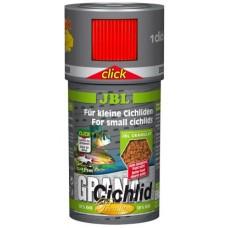 JBL (ДжБЛ) Grana Сichlid CLICK корм для рыб премиум с дозатором