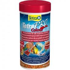 Tetra Pro Colour - корм для всех аквариумных рыб / улучшает окрас