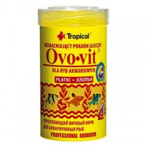 Сухой Корм «Tropical Ovo-vit» для аквариумных рыб в хлопьях - Petplus