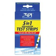 API Aquarium Test Strips - полоски для экспресс-тестов 5 in 1