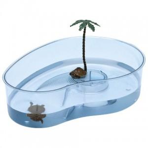 Ferplast Turtle Arricot Trans Blue - бассейн для черепах (31 x 22 x h-7,5 cm)