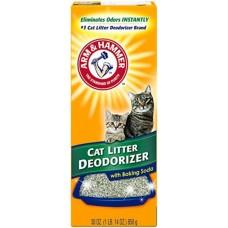 ARM&HAMMER Cat Litter Deodorizer Powder - дезодорант-порошок для кошачьего туалета