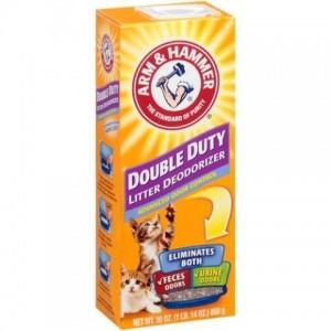 Arm & Hammer Double Duty Cat Litter Deodorizer ▪ Дезодорант для кошачьих туалетов