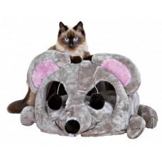 Trixie Lukas Cuddly Cave - домик с дряпкойдля кошек