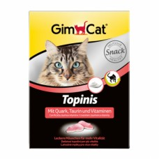 Gimcat (Джимпет) TOPINIS - мышки с таурином / вкус творога