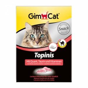 Gimpet (Джимпет) TOPINIS мышки с таурином 190шт. (вкус творога)