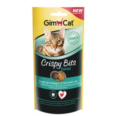 GimCat Crispy Bits Dental - мясные шарики для зубов