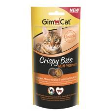 GimCat Crispy Bits Multi-Vitamin - мультивитамины в виде мясных шариков
