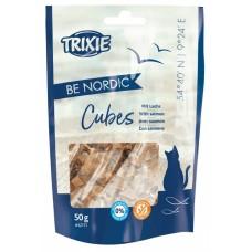 Trixie Be Nordic Salmon Cubes - лакомство для кошек / кубики с лососем