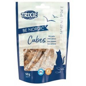 Лакомство для кошек Trixie Be Nordic Salmon Cubes - кубики с лососем