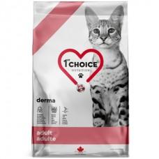 1st Choice Adult Derma - сухой беззерновой корм для котов с чувствительной кожей