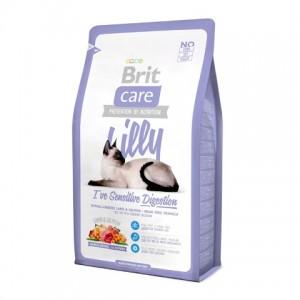 Brit (Брит) Care LILLY Sensitive Digestion - корм для кошек с чувствительным пищеварением (ягненок/лосось)