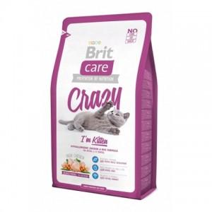 Brit Care Cat Crazy Im Kitten ☆ корм для Котят с курицей