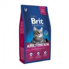 Brit Premium Cat Adult Chicken корм для кошек с курицей