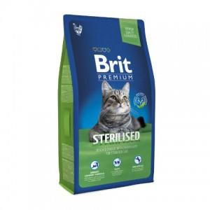 Brit Premium STERILIZED - корм для стерилизованных кошек (курица)