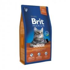 Brit Premium Cat Indoor корм для домашних кошек