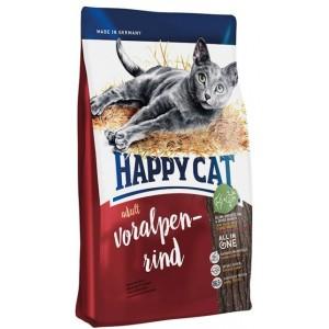 Happy Cat  ADULT VORALPEN-RIND (Для взрослых кошек Альпийская говядина)