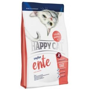 Happy Cat (Хэппи Кет) Sensitive Ente (СЕНСИТИВ УТКА) - корм для кошек с чувствительным пищеварением