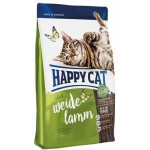 Happy Cat (Хэппи Кет) Adult Weide Lamm - корм для взрослых кошек / Пастбищный ягненок