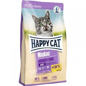 Happy Cat Minkas Urinary Care - корм для профилактики мочекаменной болезни у кошек / домашняя птица