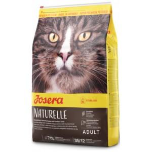 Ваш котик не переносит зерновых или имеет меньшую потребность в энергии? Заказывайте в нашем зоомагазине «Petplus» корм «Josera™Naturelle» | Корм - Кошки - Йозера - Натуреле: специально для стерилизованных кошек | страна-производитель: Германия
