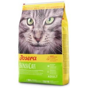 Josera SensiCat – корм супер-премиум класса для кошек с чувствительным пищеварением