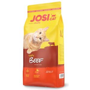 «ЙозиКет Тейсти Биф Говядина» корм для взрослых кошек | Josera JosiCat Tasty Beef: деликатес с вкусной говядиной | Экономьте время и деньги: купить сейчас в зоомагазине Petplus по хорошей цене: описание, продажа