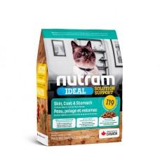 Nutram Ideal Solution Support (I19) Sensetive Coat, Skin, Stomach Cat Food - корм для кошек с чувствительным пищеварением