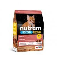 Nutram Sound (S1) Balanced Wellness Natural Kitten Food - корм для котят