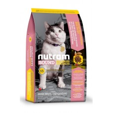 Nutram Sound Balanced Wellness Natural Adult and Senior Cat Food (S5) - корм для взрослых кошек с курицей и лососем