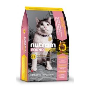 Nutram (Нутрам) Sound Balanced Wellness Natural Adult and Senior Cat Food (S5) - корм для взрослых кошек с курицей и лососем