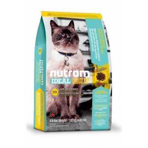 Nutram Ideal Solution Support (I19) Sensetive Coat, Skin, Stomach Cat Food - корм для взрослых котов с проблемами кожи, шерсти или желудка