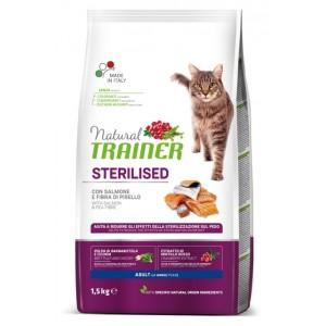 Trainer Natural Cat Adult STERILISED With Salmon - для стерилизованных кошек с лососем