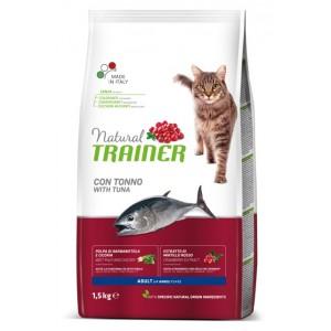 Trainer Natural Cat Adult Tuna - корма для взрослых кошек, Тунец