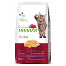 Trainer Natural MATURE With Fresh Chicken - корм для зрелых кошек в возрасте от 7 лет