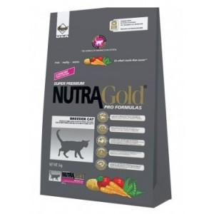Nutra Gold Cat Breeder (Нутра Голд) корм для кошек с мясом курицы,овощами и океанической рыбой