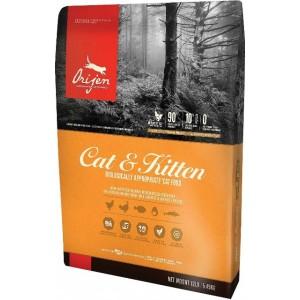 Orijen (Ориджен) Cat and Kitten биологический корм для всех пород кошек и котят