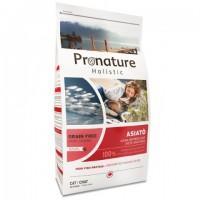 Pronature Holistic Cat Asiato - беззерновой холистик корм для котов c рыбой