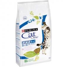 Cat Chow Feline 3 in 1 - корм для кошек с формулой тройного действия