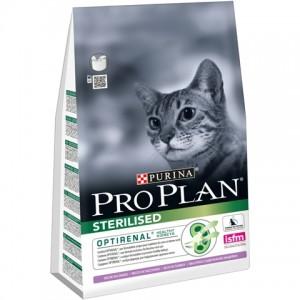 Purina Pro Plan  Sterilised Turkey - корм для стерилизованных / кастрированных кошек и котов / индейка