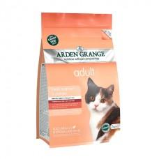 Arden Grange Adult Cat Salmon & Potato - беззерновой корм для взрослых кошек / лосось с картофелем