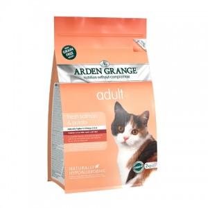 Arden Grange (Арден Грендж) Adult Cat Salmon and Potato - беззерновой корм для взрослых кошек / лосось с картофелем