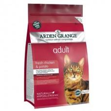 Arden Grange Adult Cat Chicken & Potato - беззерновой корм для взрослых кошек / курица с картофелем