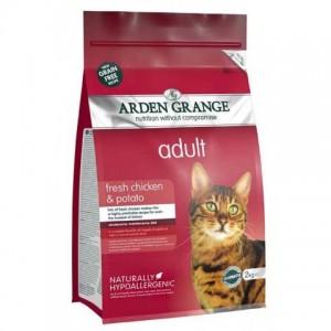 Arden Grange (Арден Грендж) Adult Cat Chicken and Potato - беззерновой корм для взрослых кошек / курица с картофелем