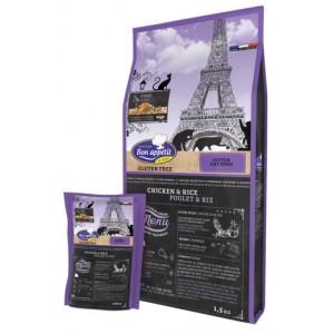 «Бон Аппетит Киттен Чиккен & Рис» корм супер премиум класса для котят Bon Appetit Kitten Chicken: диетический холистик: купить сейчас в зоомагазине Petplus по хорошей цене: Приятного Аппетита
