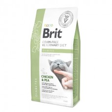 Brit Veterinary Diet Cat Grain Free Diabetes - беззерновая диета при диабете у кошек